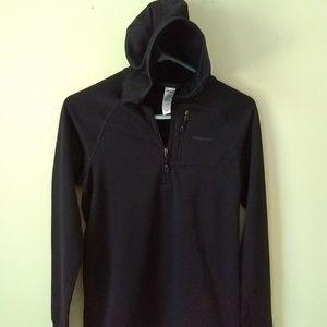 Patagonia R1 Hoody 1/4 Zip Pullover Jacket Black S